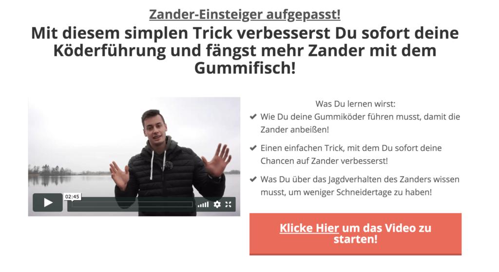 Video Köderführung Zander
