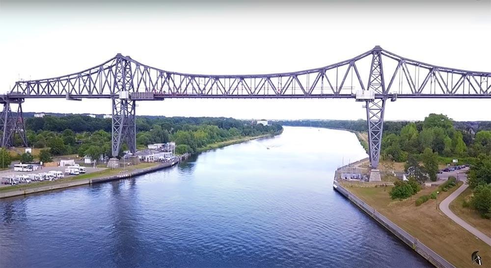 Zanderangeln am Kanal Brücke