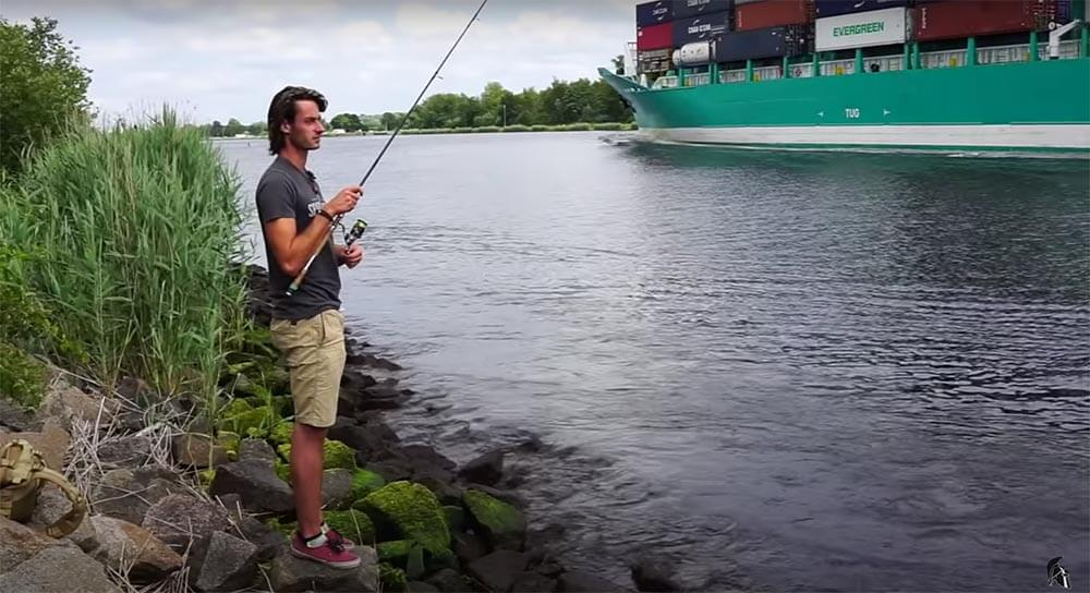 Schiffe Zander Kanal
