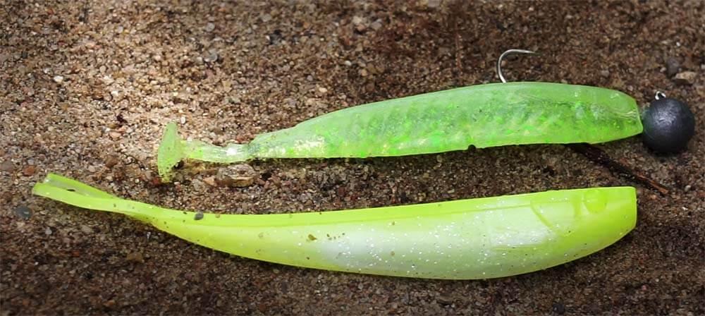 Gummifisch Chartreuse